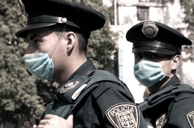 Swine flu precautions in Mexico
