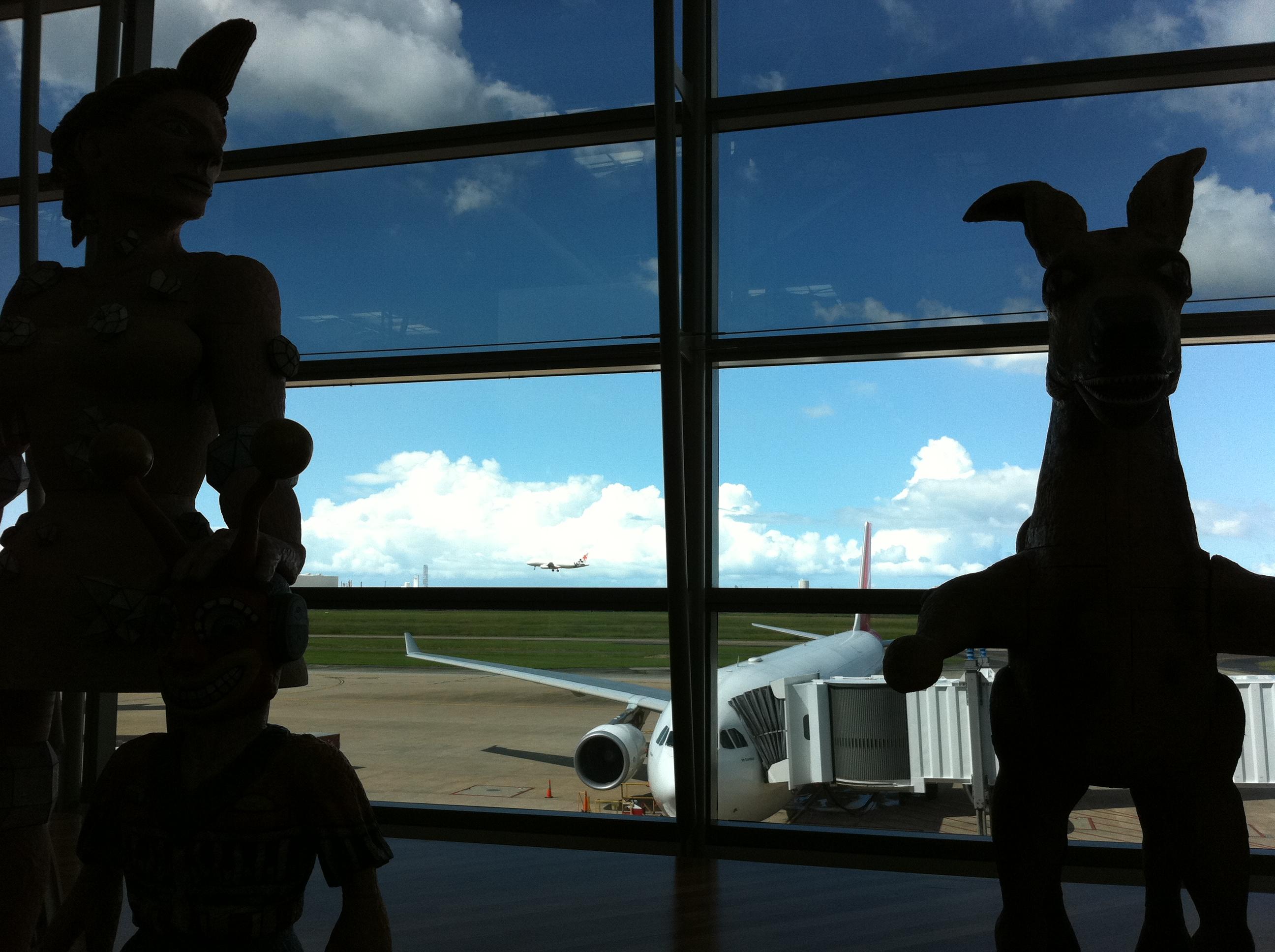 Brisbane's International Terminal