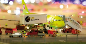 "Miniature airport ""Knuffingen"" opened this week in Hamburg, Germany"