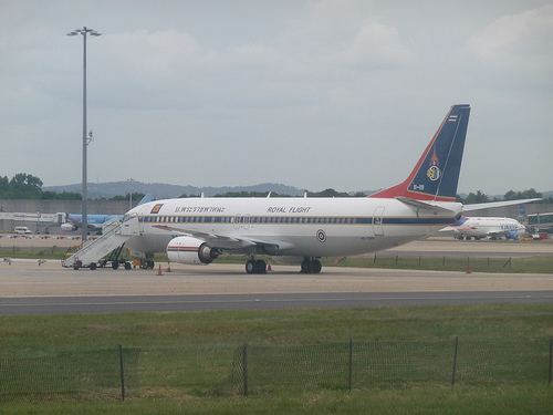 Royal Thai Air Force's Boeing 737
