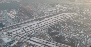 Newark Liberty International Airport from the Air