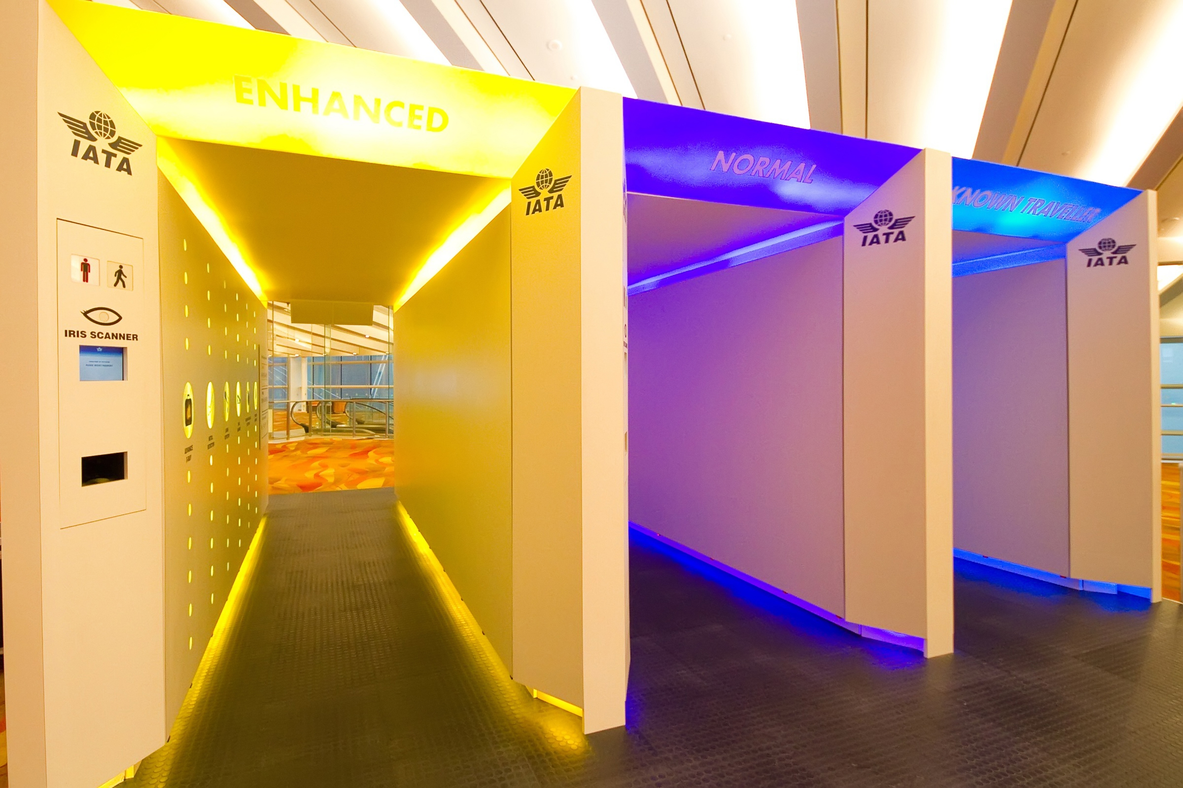 IATA's airport checkpoint of the future