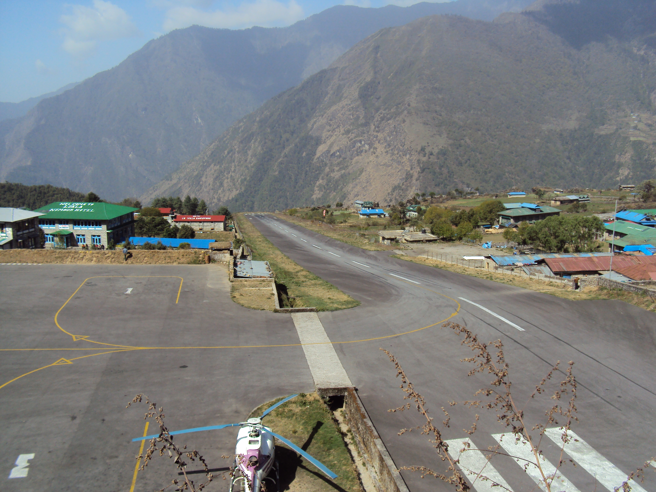 Tenzing-Hillary Airport (IATA: LUA), also known as Lukla Airport in Nepal