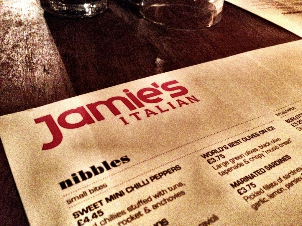 Jamie's Italian coming to Gatwick Airport