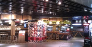 Melbourne's colourful new airport restaurant: Movida Pulpo