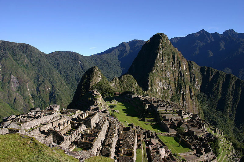 Peru's stunning Machu Picchu in the early morning