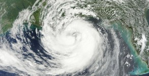 Hurricane Isaac on 28 August 2012