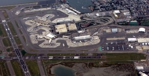 Boston's Logan Airport (Source Wikipedia)