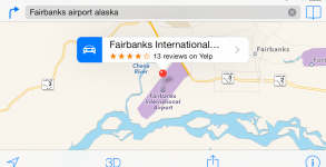 Apple Maps Problem in Alaska