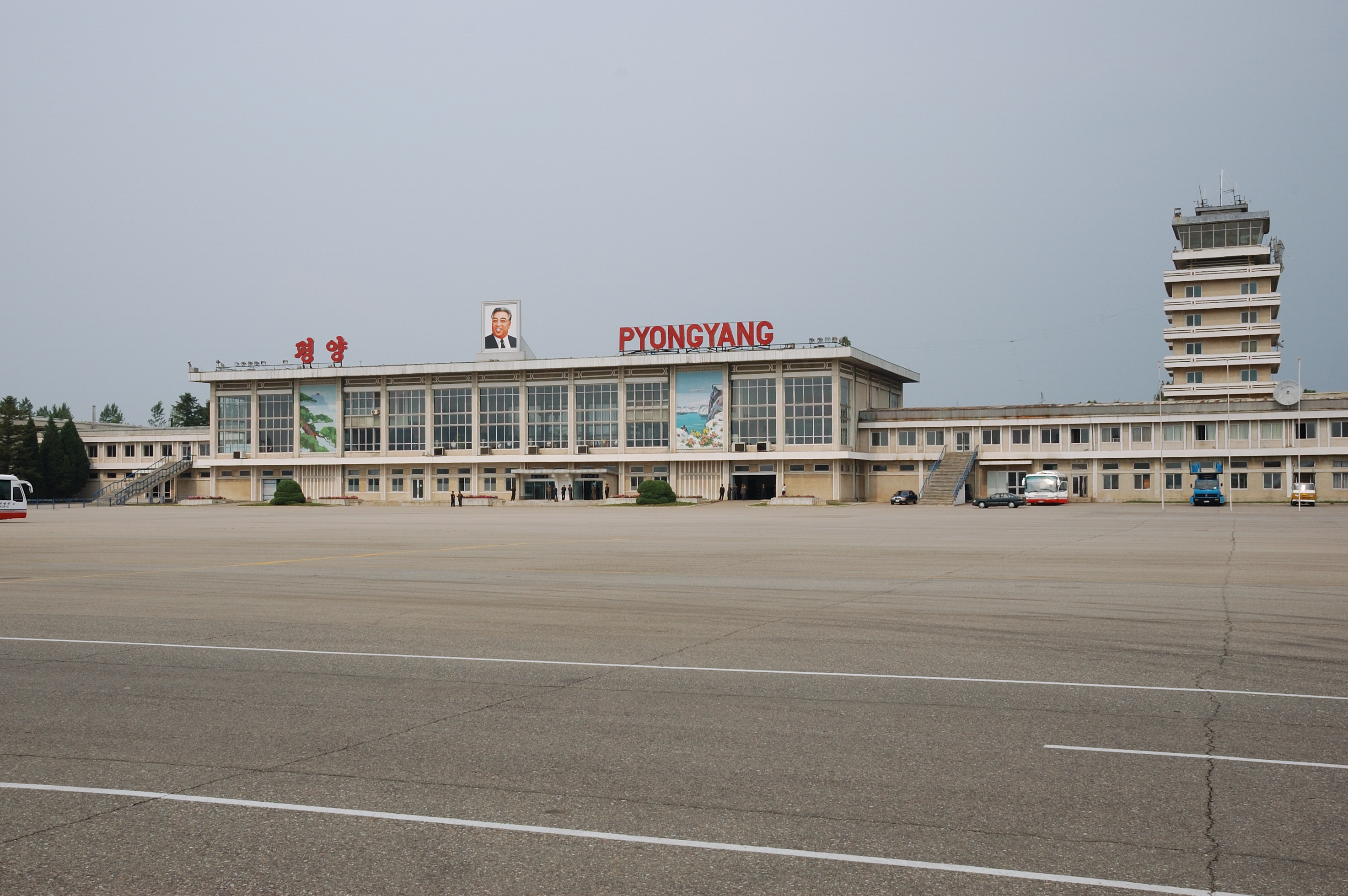 North Korea Pyongyang Sunan International Airport