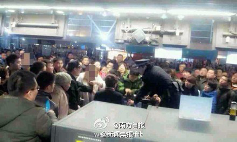 Airport Riots in China