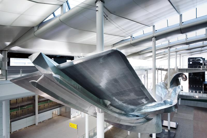 Art Installation in Heathrow's new Terminal 2