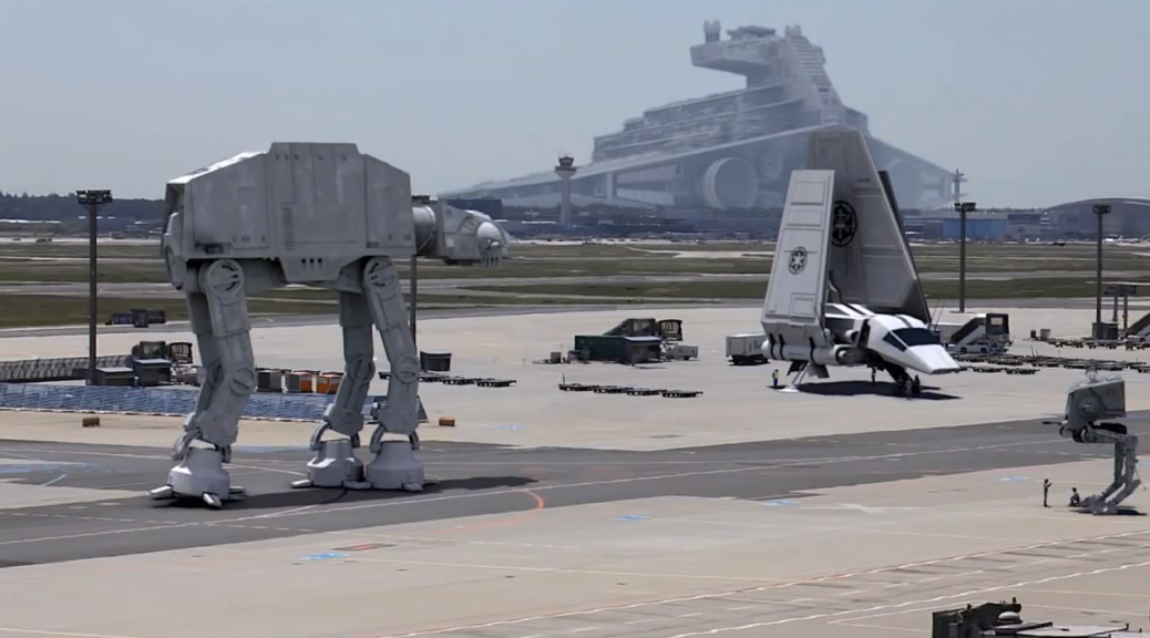 Star Wars at Frankfurt Airport