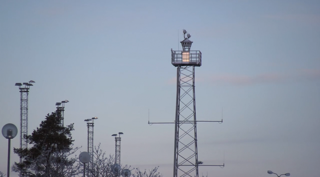 Sweden's remote controlled air traffic control tower