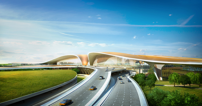Beijing New Airport designs unveiled