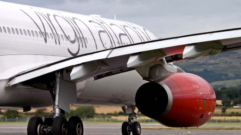 A Virgin Atlantic got grounded after a celebration went wrong