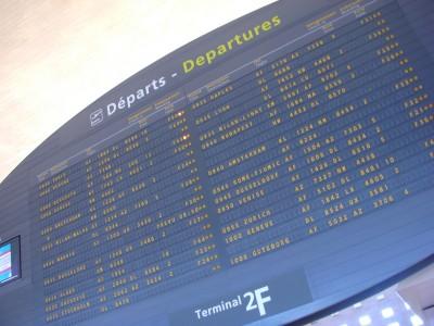 First delayed passengers, then delayed flights - Paris Charles de Gaulle Airport this weeek