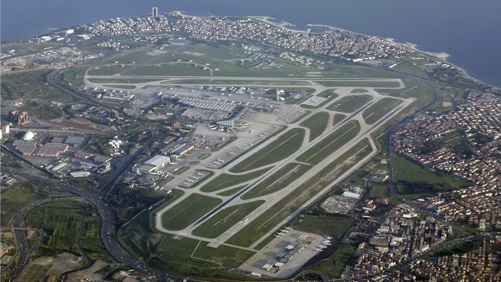 Ataturk Airport overview